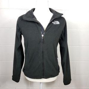 The North Face Black Zip Up Fleece Jacket
